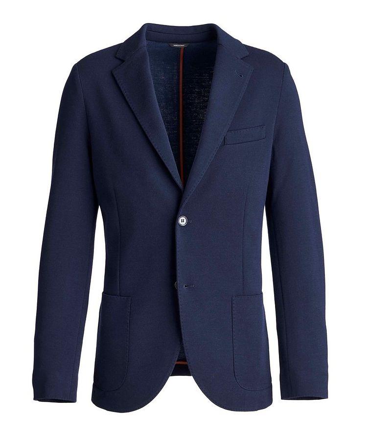Wool-Blend Sweater Jacket image 0