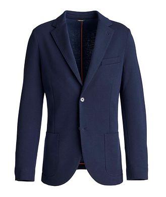 Loro Piana Wool-Blend Sweater Jacket