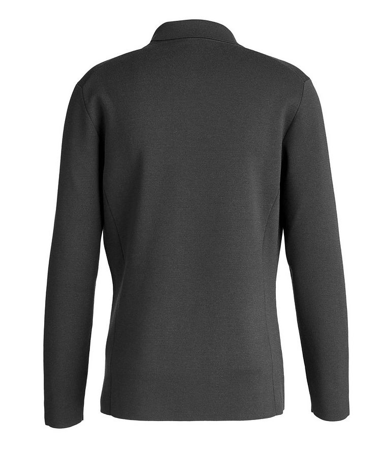 Unstructured Wool Knit Jacket image 1