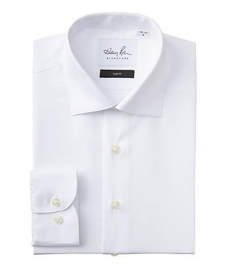 Harry Rosen Signature Slim Fit Cotton Dress Shirt