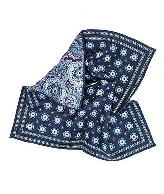 Edward Armah Reversible Pocket Square