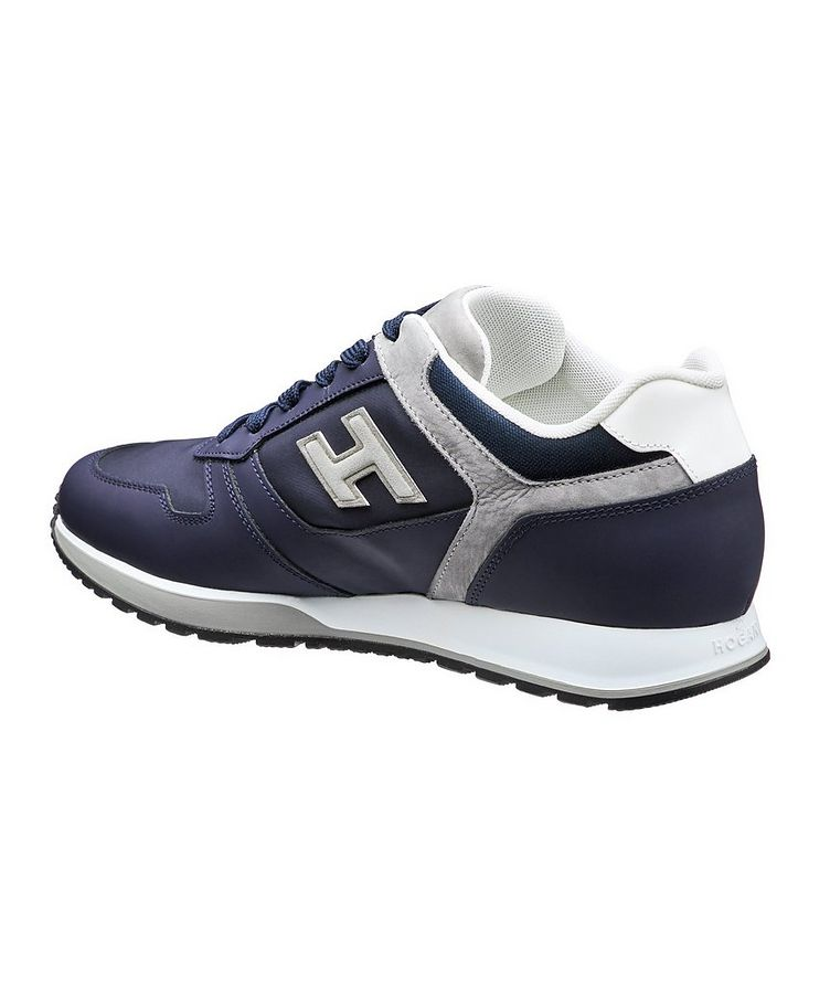 Multi-Texture Sneakers image 1