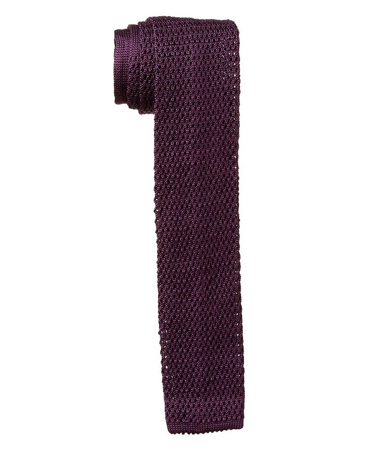 Knitted Silk Tie image 0