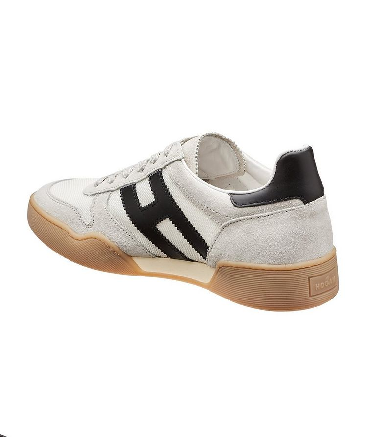 Suede and Mesh Sneakers image 1