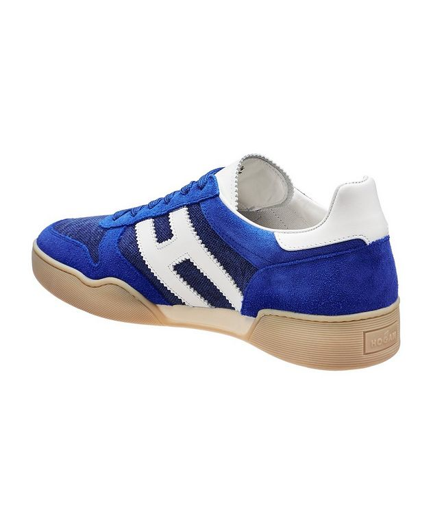 Suede and Mesh Sneakers picture 2
