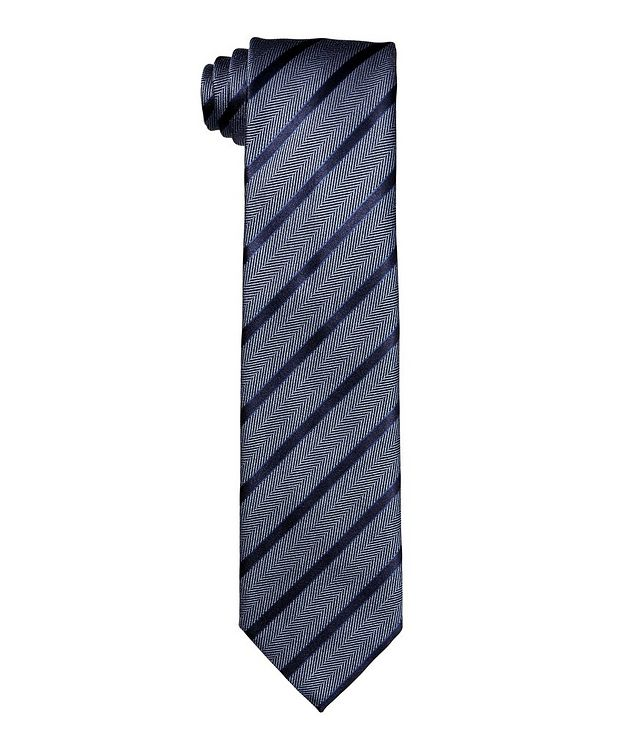 Striped Silk Tie picture 1