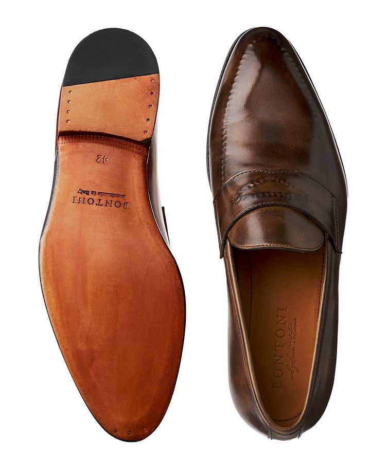 Burnished Penny Loafers image 2