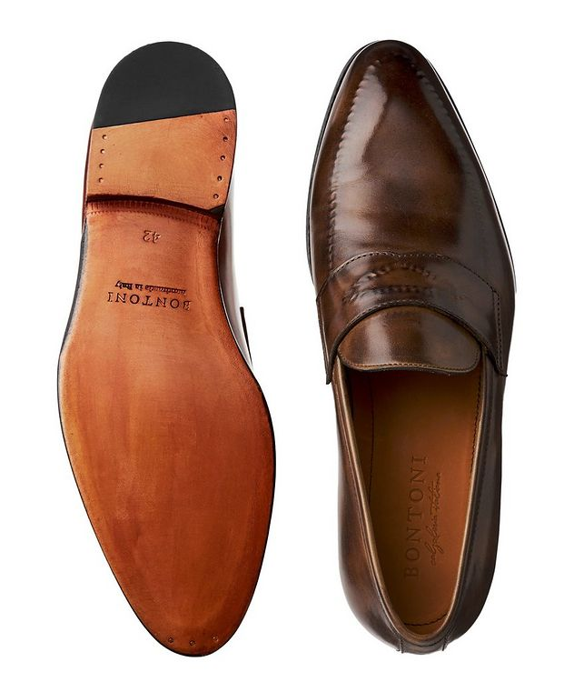 Burnished Penny Loafers picture 3