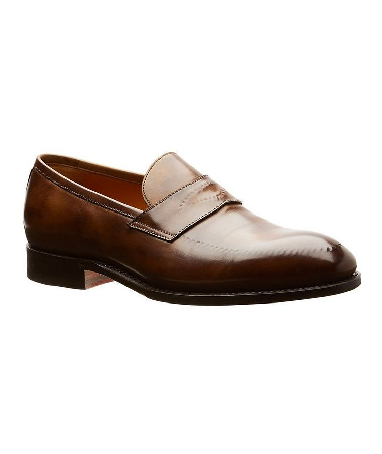 Burnished Penny Loafers image 0