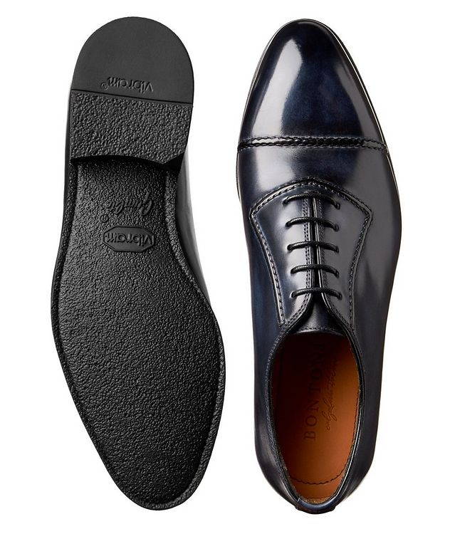 Burnished Cap-Toe Oxfords picture 3