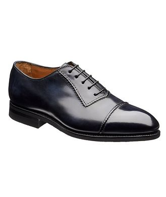 Bontoni Burnished Cap-Toe Oxfords