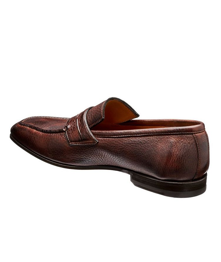 Burnished Deerskin Penny Loafers image 1