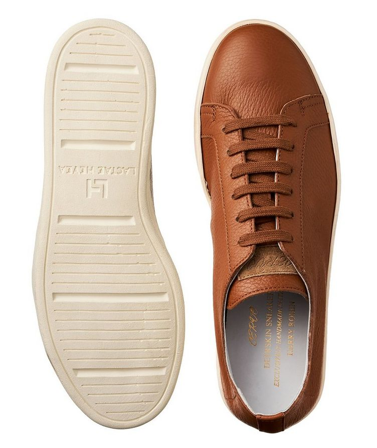 Chaussure sport en cuir de chevreuil image 1