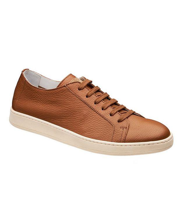 Chaussure sport en cuir de chevreuil picture 1