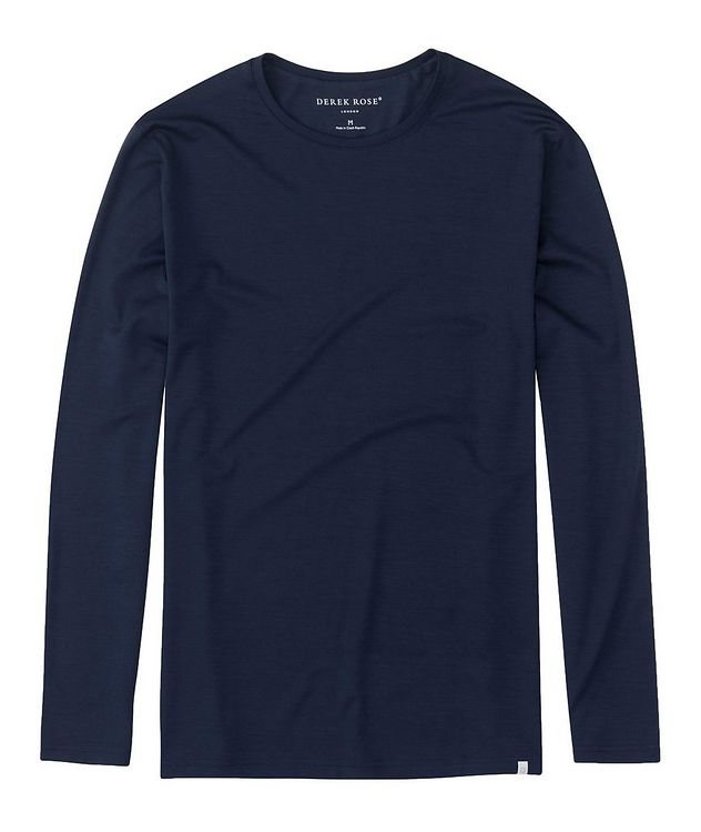 Long-Sleeve Basel Micro Modal T-Shirt picture 1