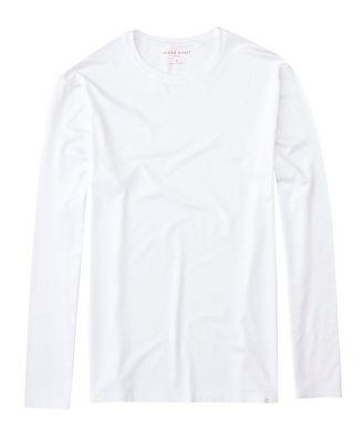 Derek Rose Long-Sleeve Basel Micro Modal T-Shirt