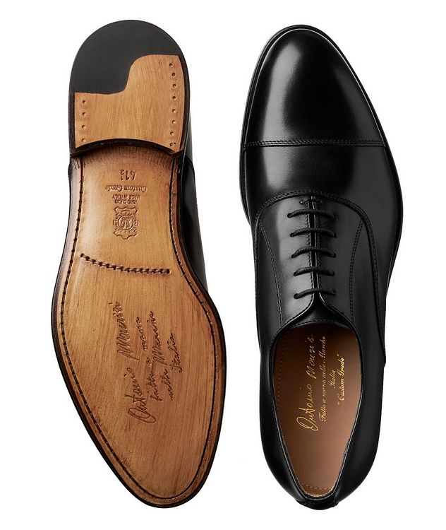 Cap-Toe Calfskin Oxfords picture 3