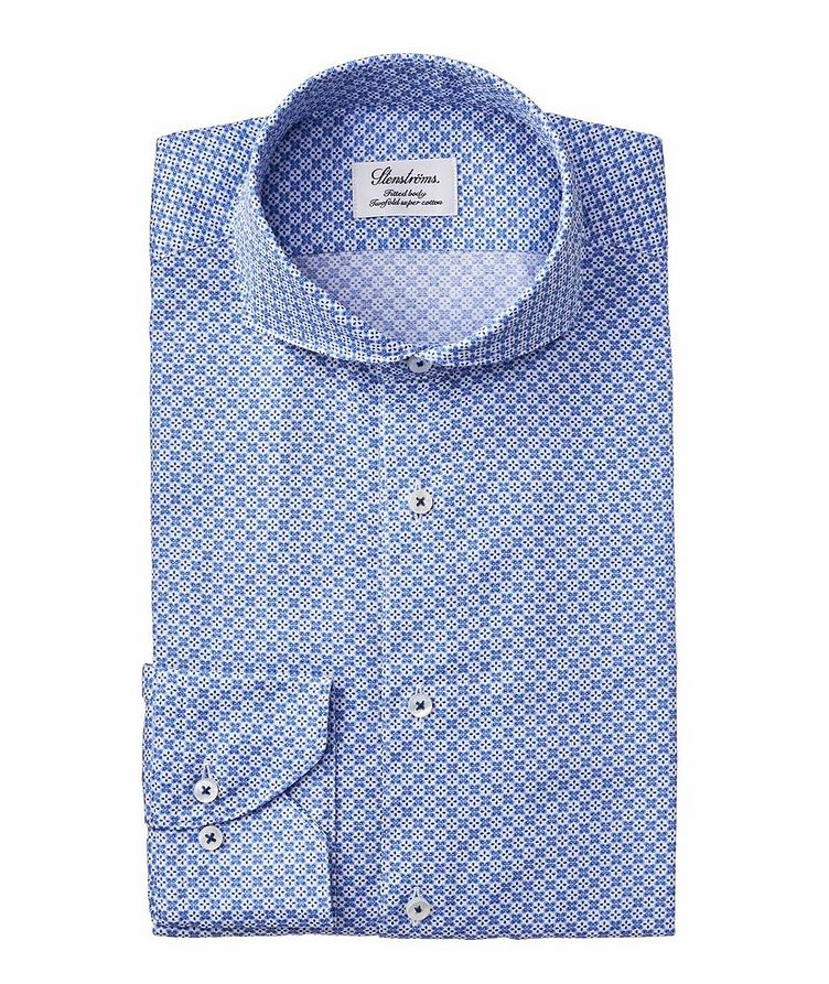 Fitted Body Neat Printed Dress Shirt image 0