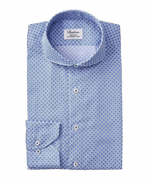 Fitted Body Neat Printed Dress Shirt picture 1