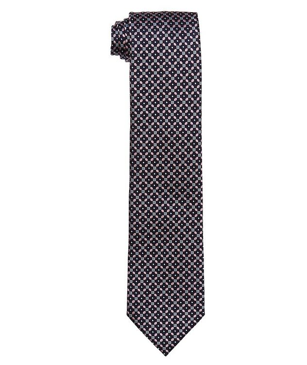 Printed Silk Tie picture 1