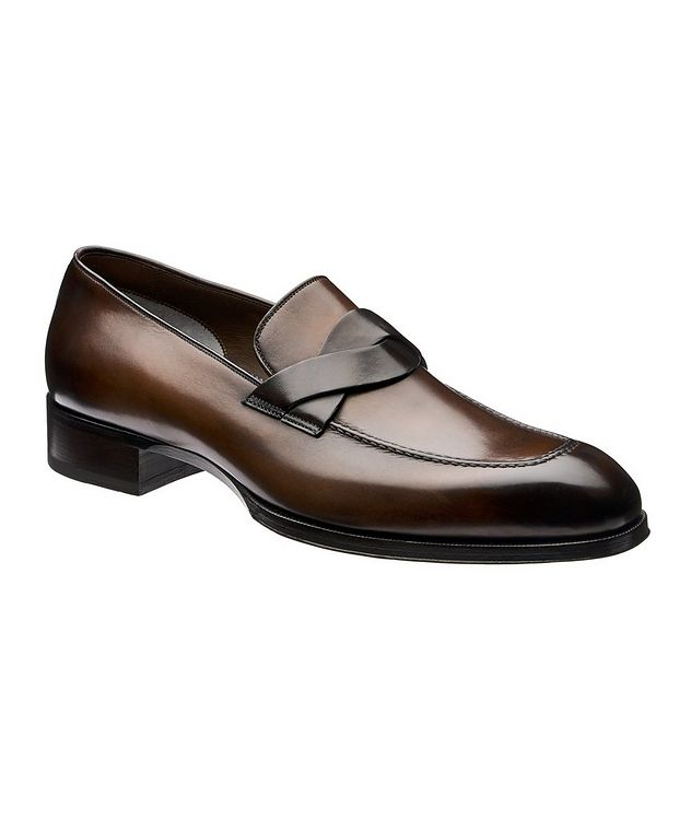 Elkan Twisted-Band Loafers picture 1