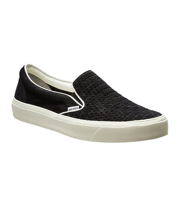 Slip-on Suede Sneakers picture 1