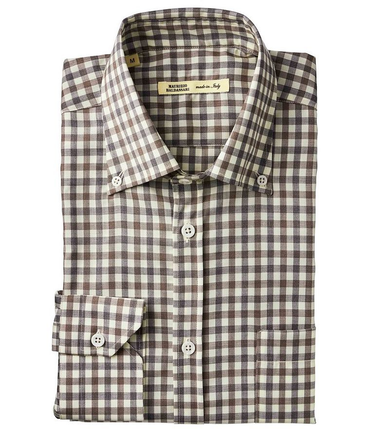 Checked Wool Shirt image 0