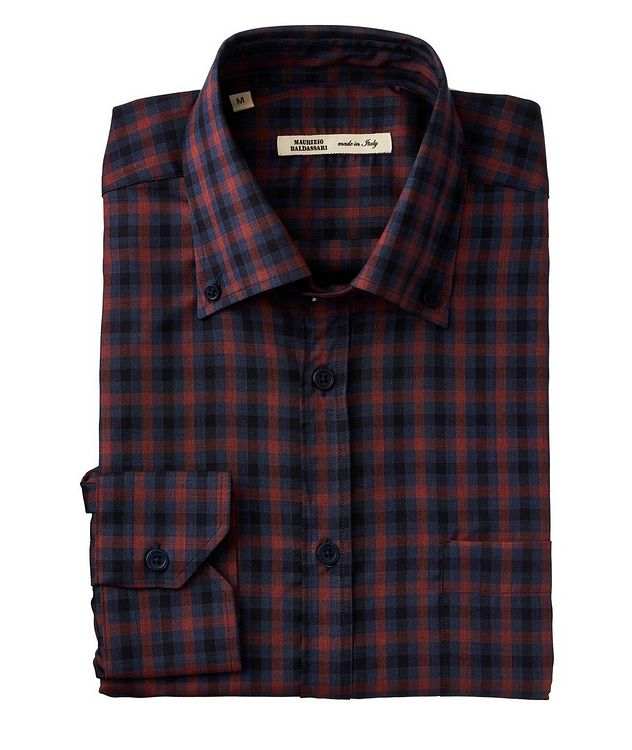 Plaid Wool Shirt picture 1