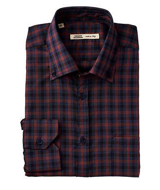 Maurizio Baldassari Plaid Wool Shirt