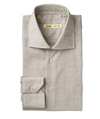 Maurizio Baldassari Checkered Wool Shirt