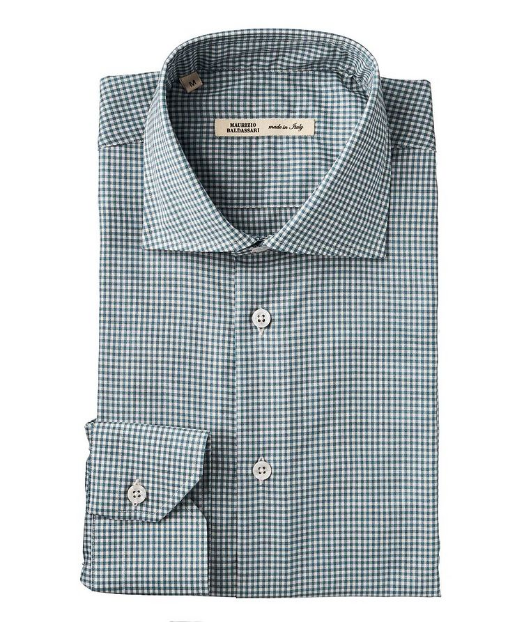 Checkered Wool Shirt image 0