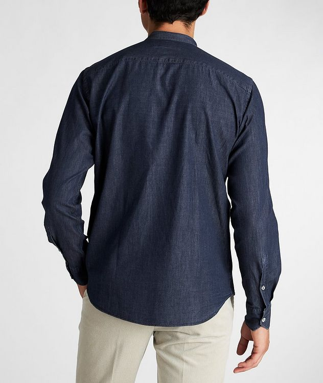 Collarless Cotton Shirt picture 3