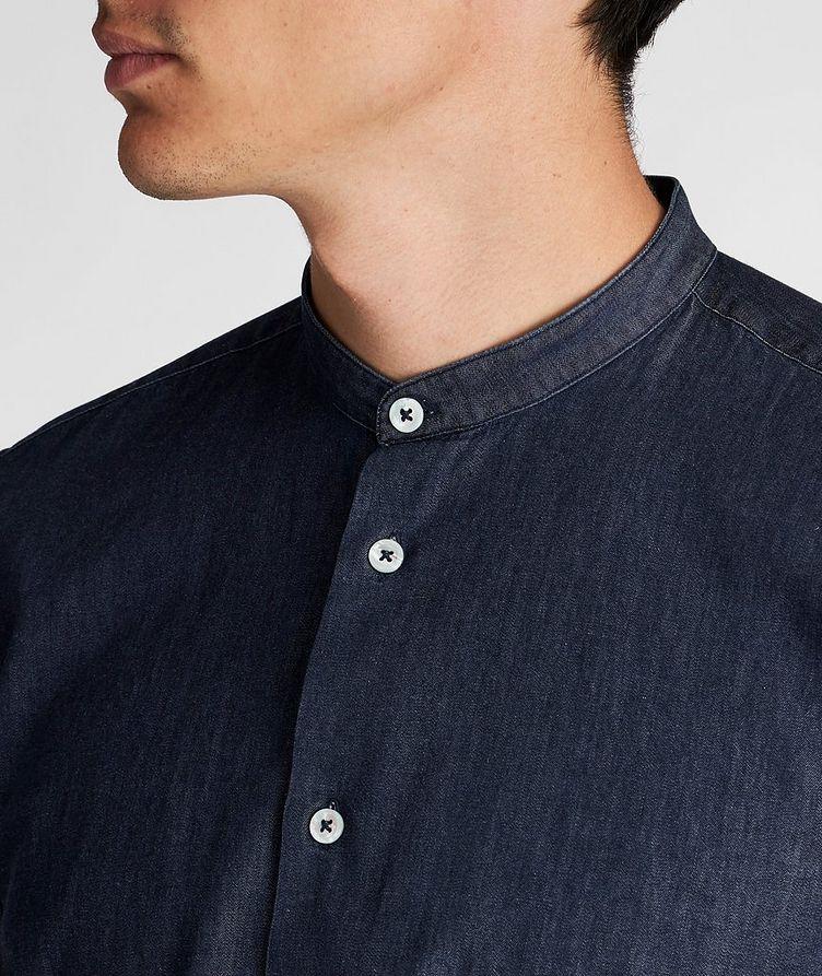 Chemise en coton sans col image 3