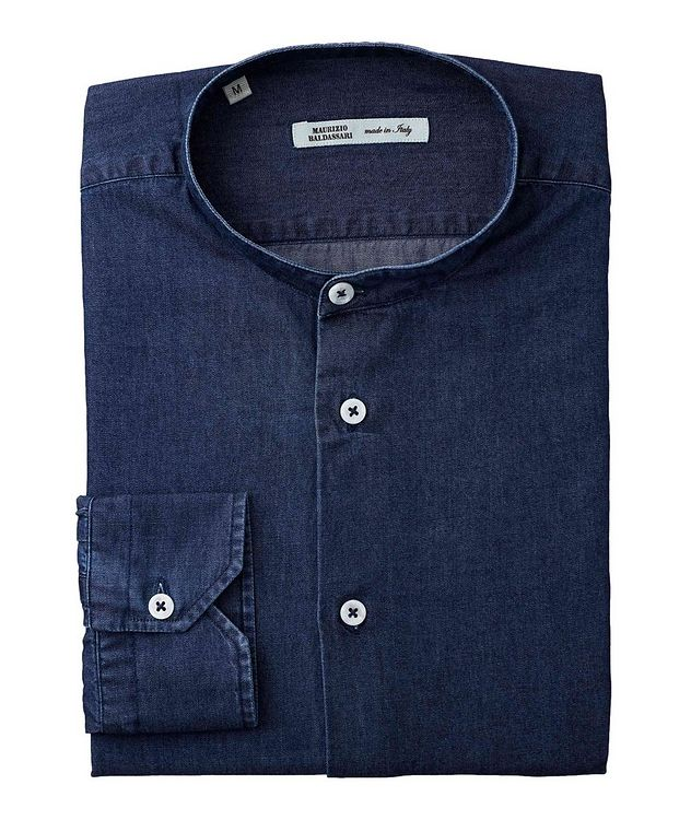 Collarless Cotton Shirt picture 1