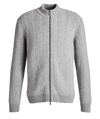 Maurizio Baldassari Cable-Knit Cashmere Sweater