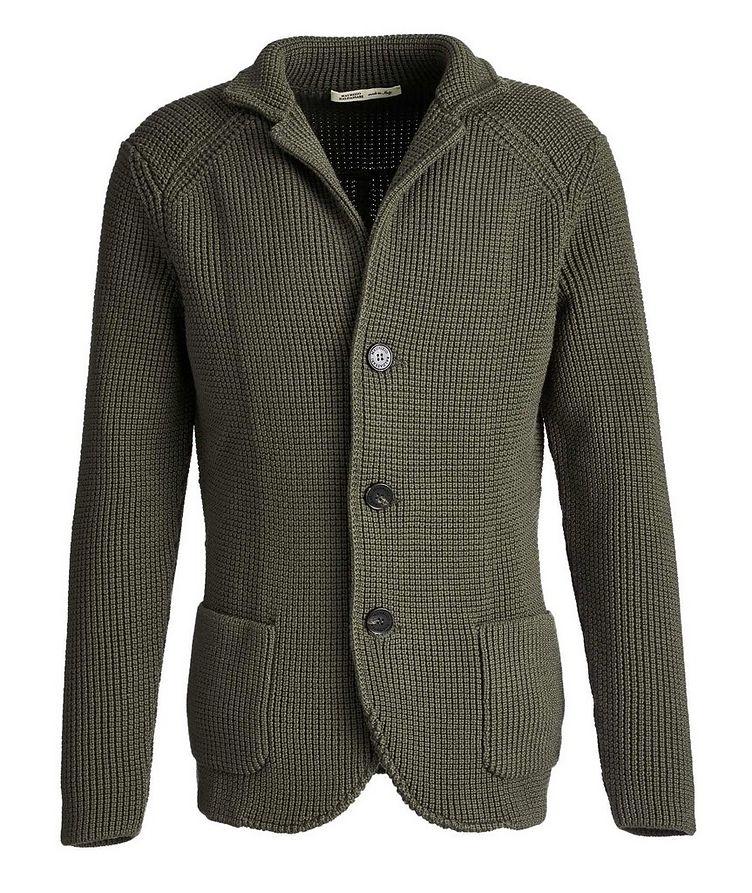 Cardigan en tricot de laine image 0