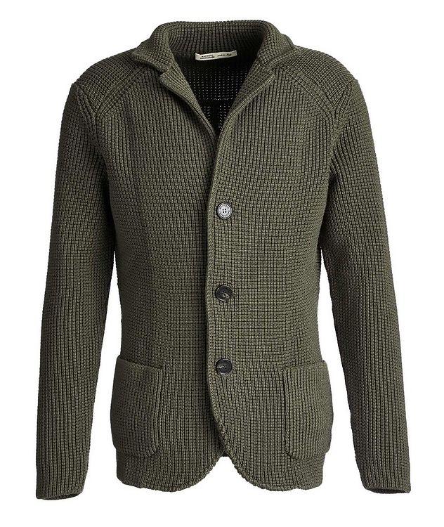 Cardigan en tricot de laine picture 1