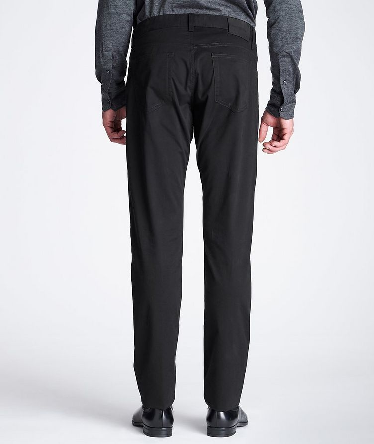 Slim Fit Stretch-Cotton Pants image 2