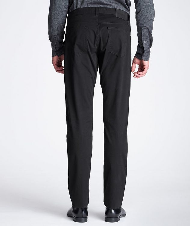 Slim Fit Stretch-Cotton Pants picture 3