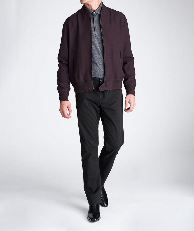Slim Fit Stretch-Cotton Pants image 3