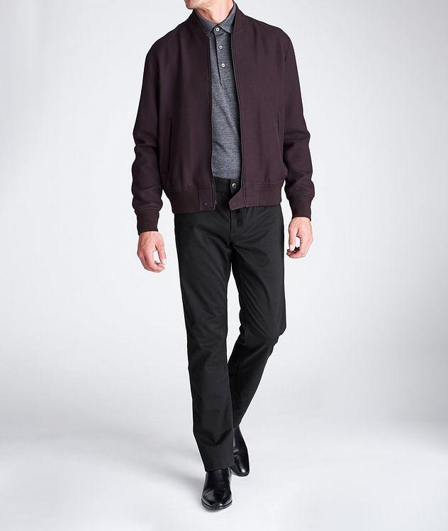 Slim Fit Stretch-Cotton Pants picture 4