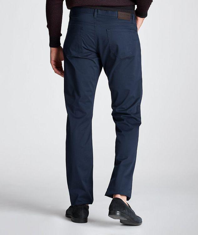 Slim Fit Stretch-Cotton Pants picture 3
