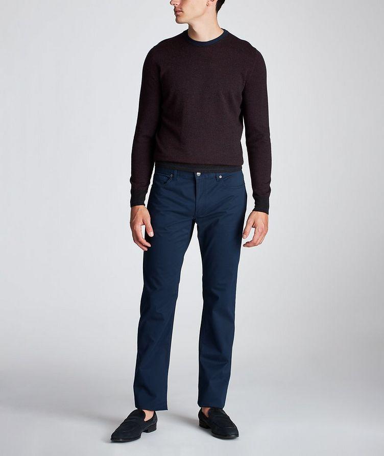 Slim Fit Stretch-Cotton Pants image 4