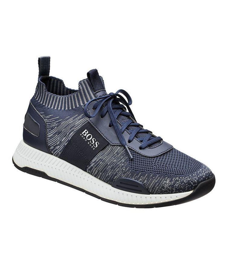 Titanium Knit Sock Sneakers image 0