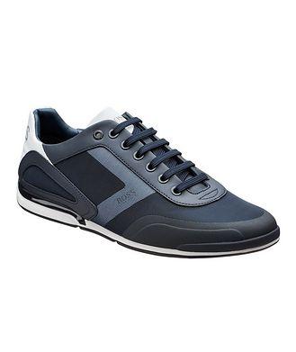 BOSS Saturn Multi-Texture Sneakers