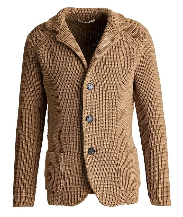 Virgin Wool Cardigan image 0