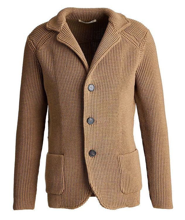Virgin Wool Cardigan picture 1