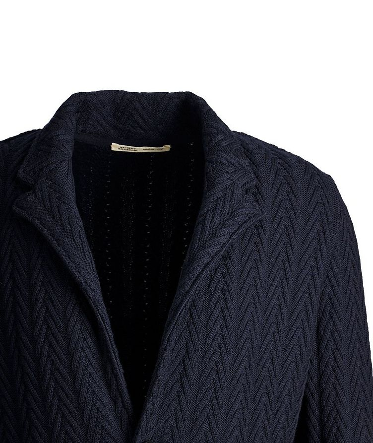 Knit Wool Cardigan image 1