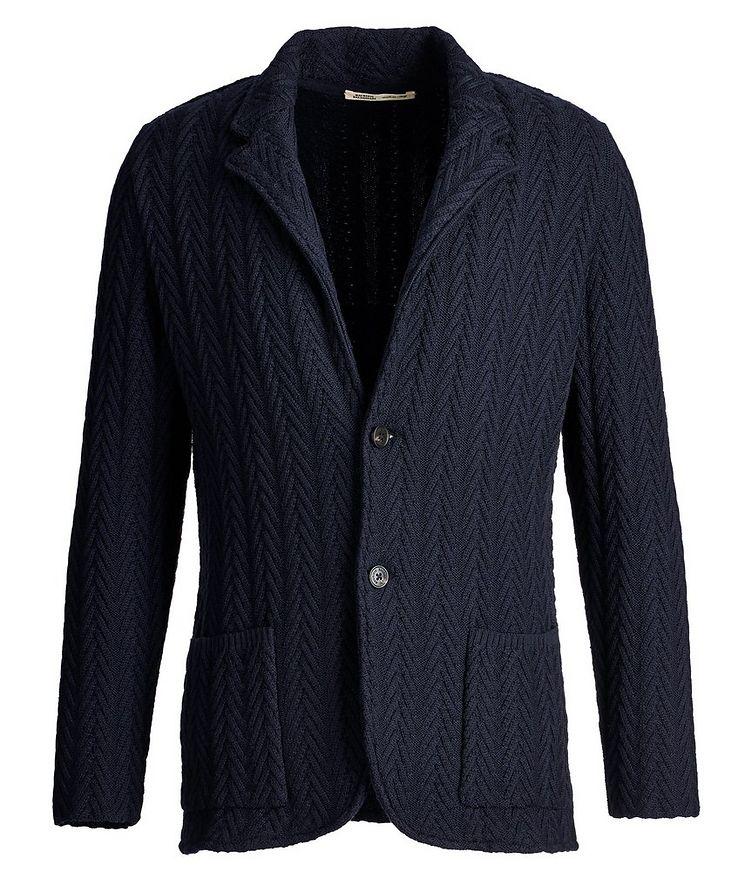 Knit Wool Cardigan image 0