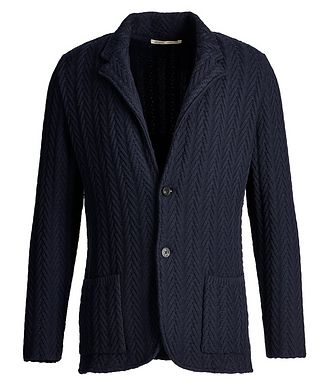 Maurizio Baldassari Knit Wool Cardigan